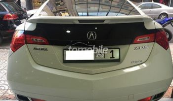Acura ZDX 2010 Essence  Casablanca full