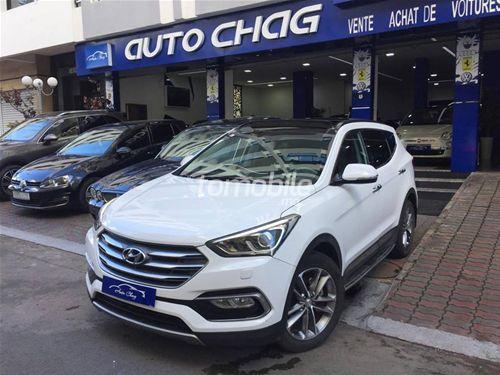 hyundai grand santa fe diesel 2016 occasion 17000km casablanca 21248. Black Bedroom Furniture Sets. Home Design Ideas