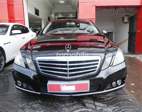 Mercedes benz classe e 2010 diesel 125586 casablanca for Mercedes benz ma