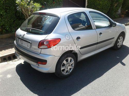 peugeot 206 essence 2012 occasion 79000km casablanca 24641. Black Bedroom Furniture Sets. Home Design Ideas