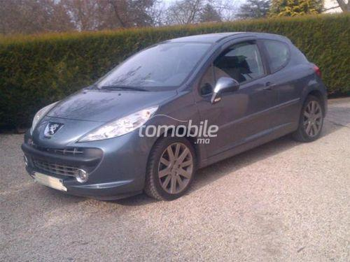 peugeot 207 essence 2007 occasion 100000km casablanca 24636. Black Bedroom Furniture Sets. Home Design Ideas