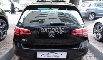 Volkswagen Golf 2014 Diesel 45000 Casablanca plein
