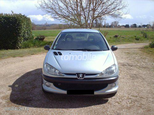 peugeot 206 diesel 2001 occasion 290000km rabat 33722. Black Bedroom Furniture Sets. Home Design Ideas