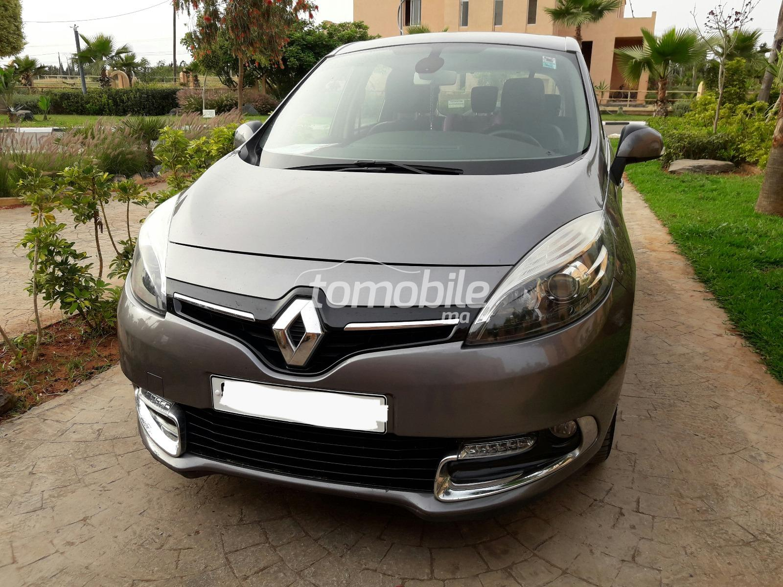 renault scenic diesel 2013 occasion 50000km casablanca. Black Bedroom Furniture Sets. Home Design Ideas