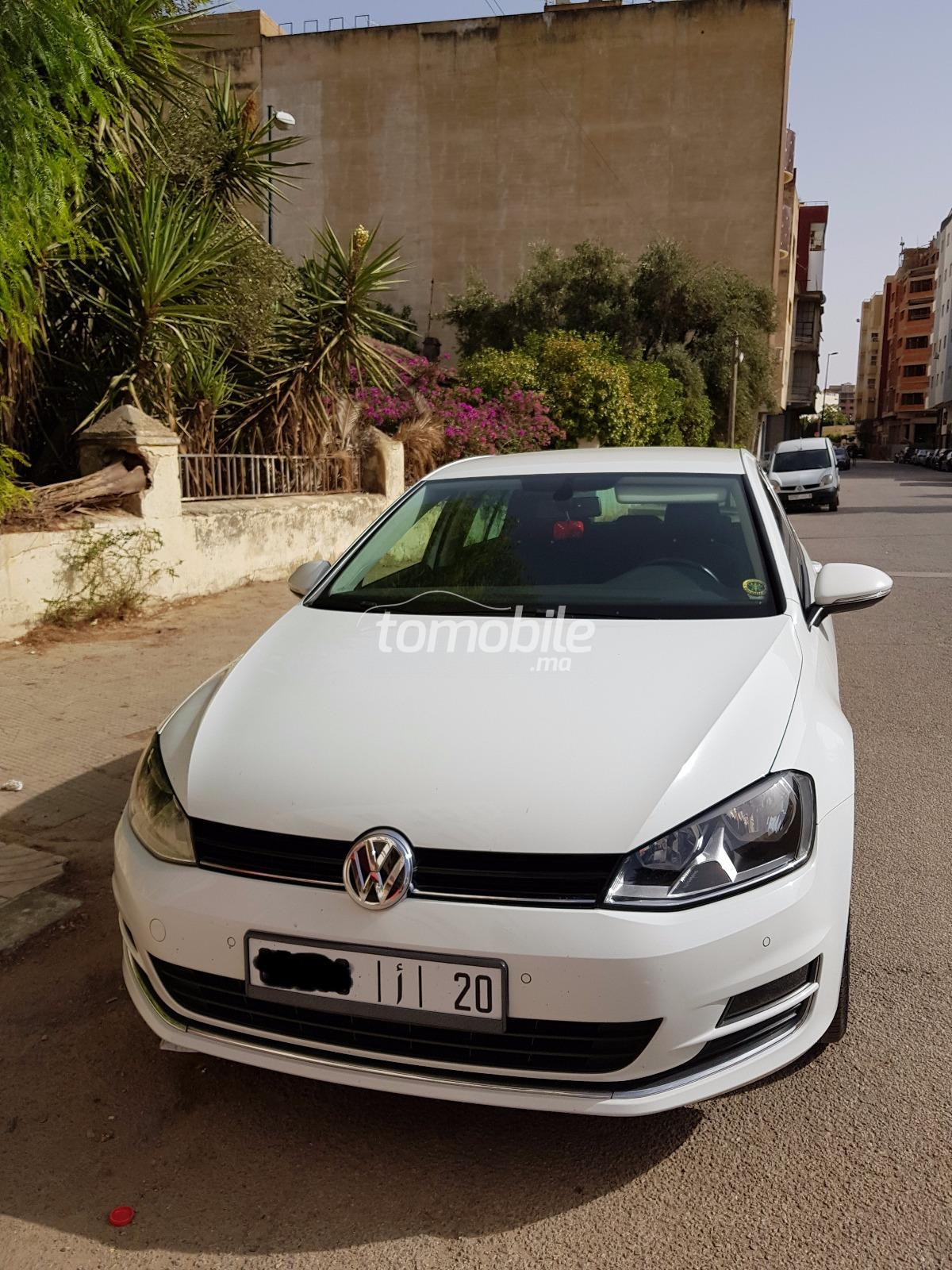 volkswagen golf diesel 2014 occasion 75000km mekn s 38444. Black Bedroom Furniture Sets. Home Design Ideas