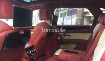 Bentley Bentayga Importé Neuf 2017 Diesel Km Casablanca Cars&Cars Maroc #42093 plein