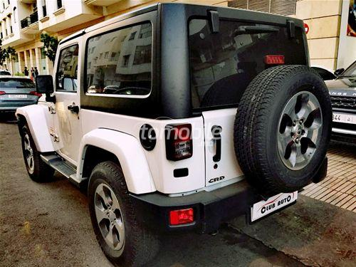 jeep wrangler diesel 2016 occasion 20000km casablanca 45872. Black Bedroom Furniture Sets. Home Design Ideas