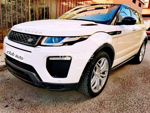 land rover range rover evoque occasion 2016 diesel 25000km casablanca club auto 45458. Black Bedroom Furniture Sets. Home Design Ideas