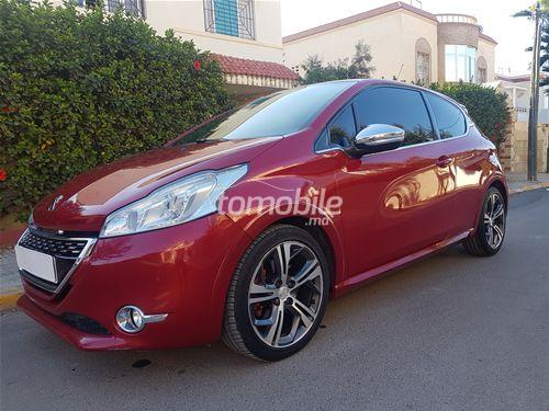 peugeot 208 essence 2013 occasion 43000km rabat 43794. Black Bedroom Furniture Sets. Home Design Ideas