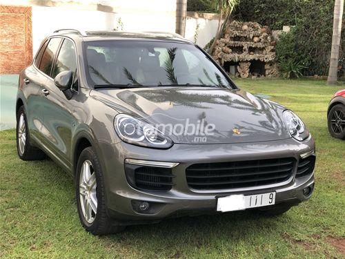 porsche cayenne diesel 2016 occasion 54000km casablanca. Black Bedroom Furniture Sets. Home Design Ideas