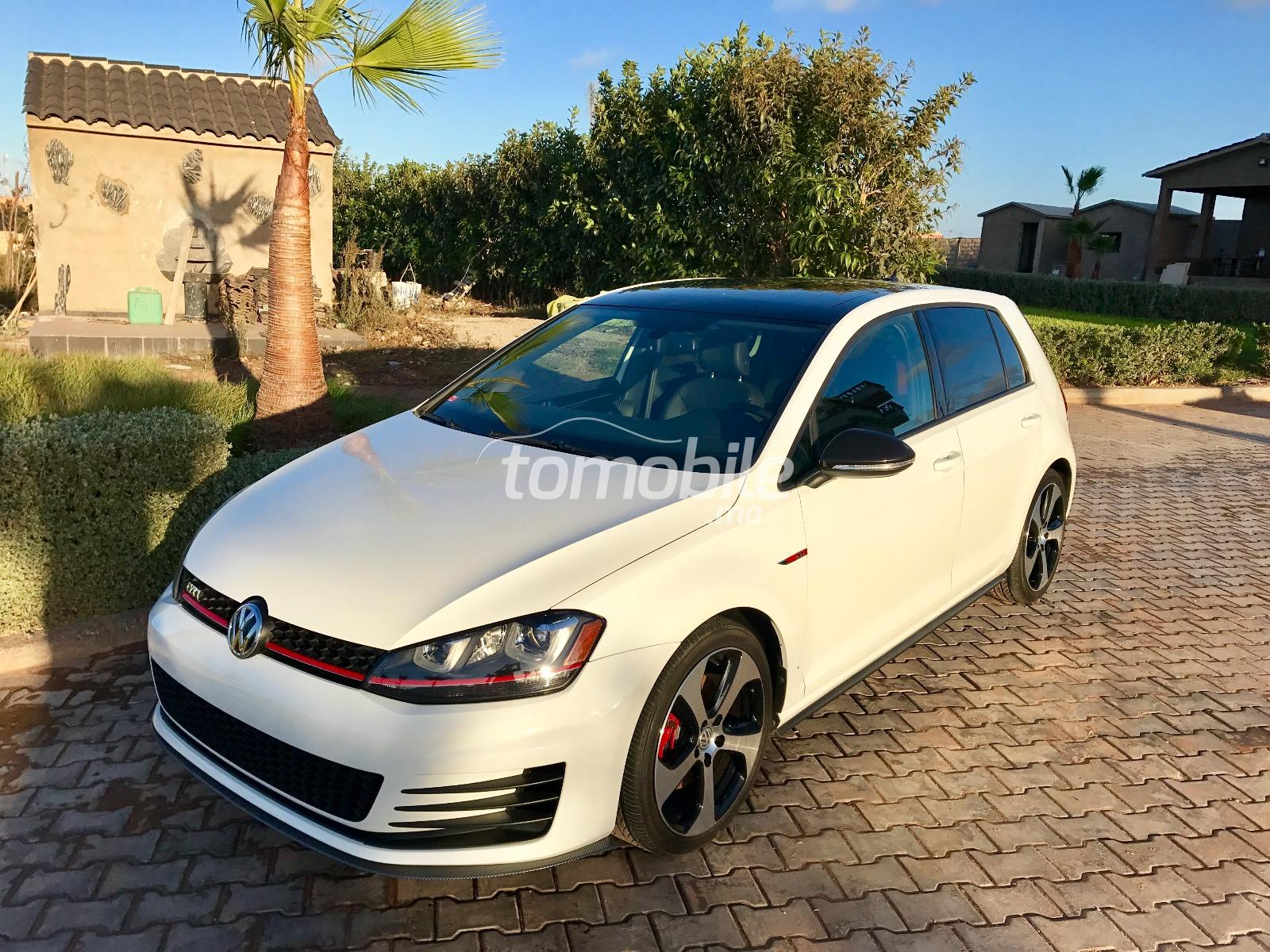 volkswagen golf import neuf essence 2015 occasion 25000km casablanca 54804. Black Bedroom Furniture Sets. Home Design Ideas