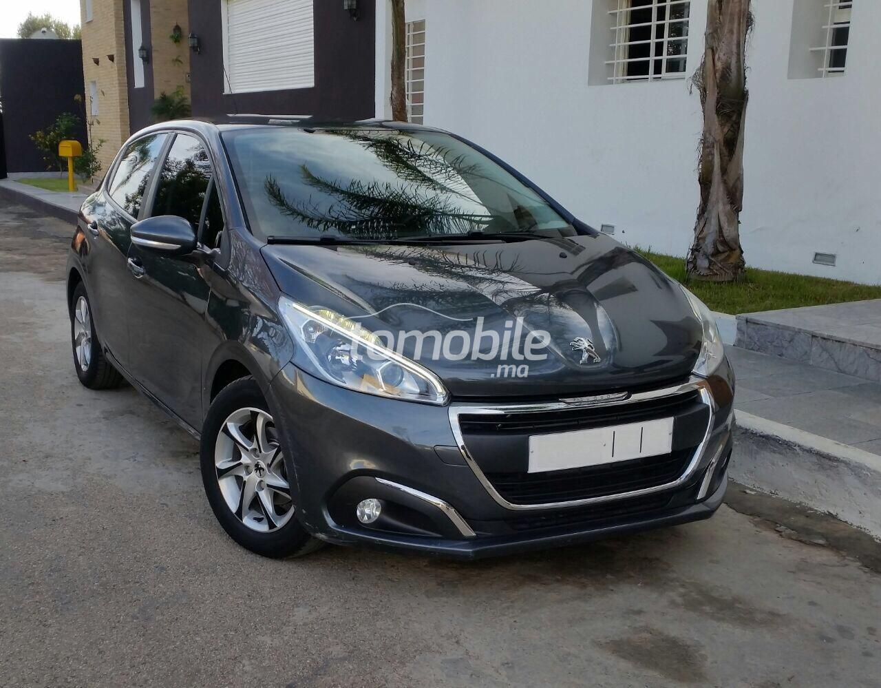 peugeot 208 occasion 2015 diesel 46000km rabat 55521. Black Bedroom Furniture Sets. Home Design Ideas