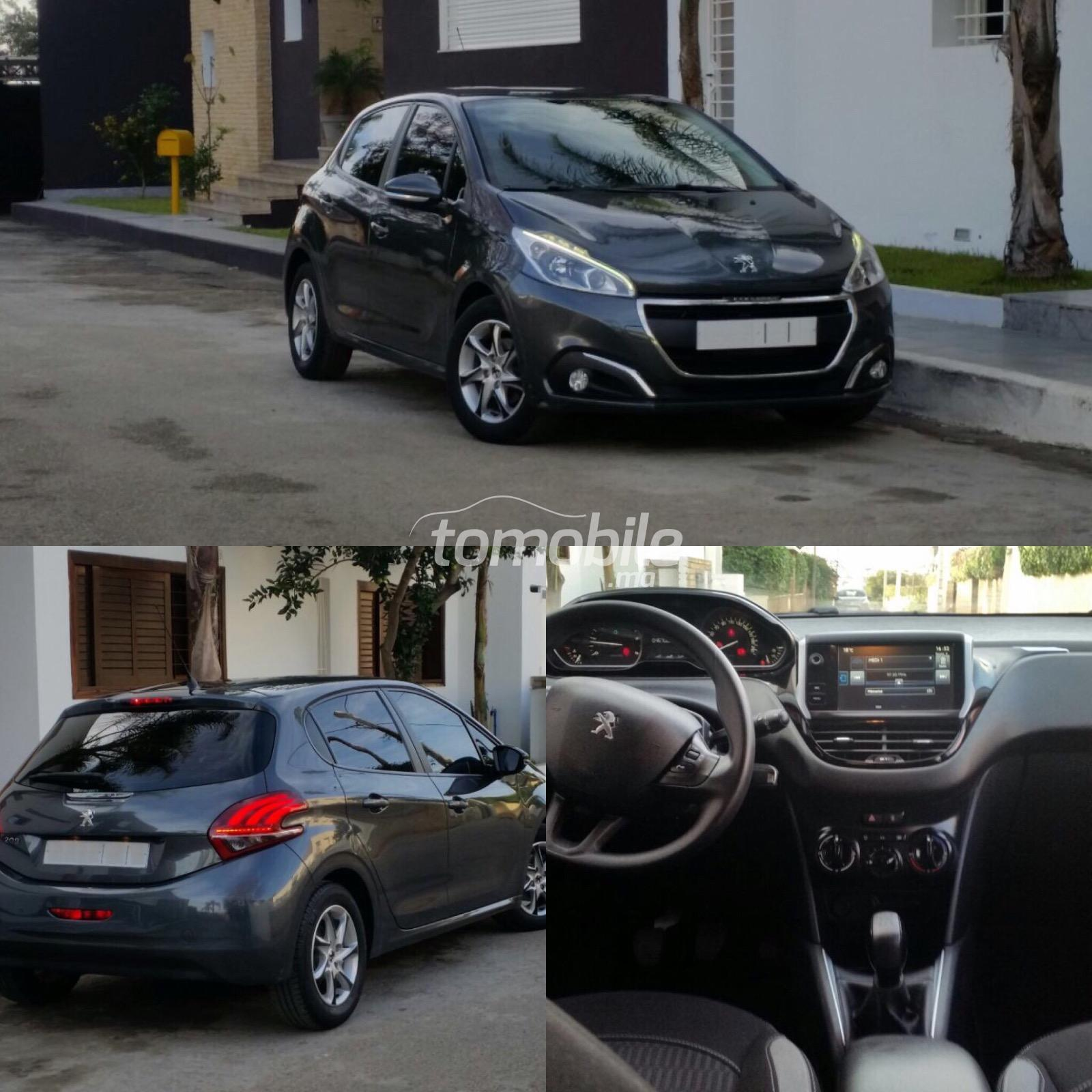 peugeot 208 diesel 2015 occasion 46000km rabat 55521. Black Bedroom Furniture Sets. Home Design Ideas
