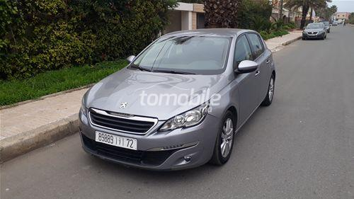 peugeot 308 diesel 2015 occasion 63000km casablanca 58307. Black Bedroom Furniture Sets. Home Design Ideas