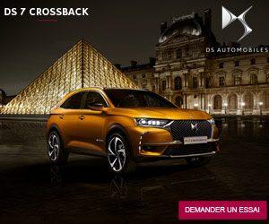 Promotion Affiche DS7 CrossBack Maroc Tomobile Maroc