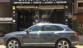 Bentley Bentayga Importé Neuf 2018 Diesel Casablanca Cars&Cars Maroc #73181 plein