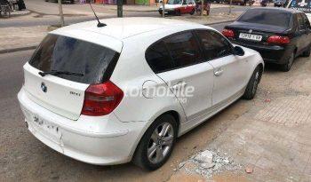 BMW Serie 1  2008 Essence 1980000Km Casablanca #79531 plein