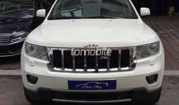 Jeep Grand Cherokee Occasion 2012 Diesel 82000Km Casablanca Auto Chag #73673 plein
