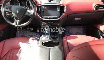 Maserati Ghibli Importé Occasion 2015 Diesel 30000Km Casablanca Auto Chag #73694 plein