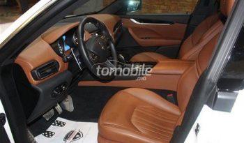 Maserati Levante Occasion 2017 Diesel 18000Km Marrakech Hivernage Auto #78216 full