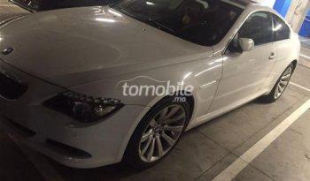 BMW Serie 6 Occasion 2010 Diesel 76000Km Casablanca #80370 plein