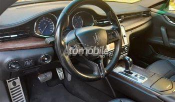 Maserati Quattroporte Occasion 2014 Diesel 92000Km Casablanca #80723 full