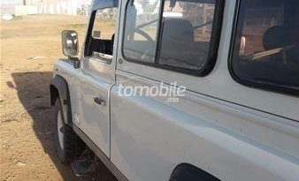 Land Rover Defender Occasion 2000 Diesel 340000Km Casablanca #81040 plein