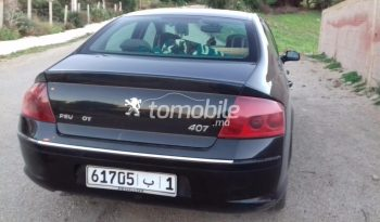 Peugeot 407  2007 Diesel Km Tanger #81623 plein