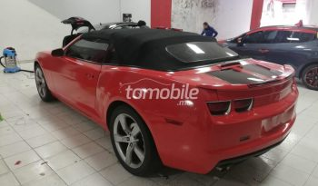 Chevrolet Camaro Importé  2012 Essence 81000Km Casablanca #83383 plein