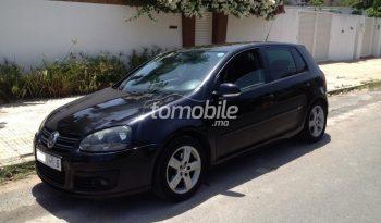 Volkswagen Golf  2008 Diesel 244000Km Casablanca #84915 plein