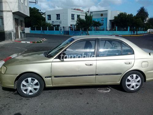 Voiture Hyundai Accent 2001 à casablanca  Essence  - 7 chevaux