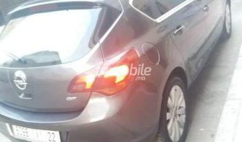 Opel Astra  2011 Diesel 133000Km Casablanca #85828 plein