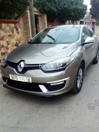 Voiture Renault Megane 2015 à agadir  Diesel  - 6 chevaux