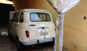 Renault R 4  1990 Essence 200000Km Béni Mellal #87359 plein